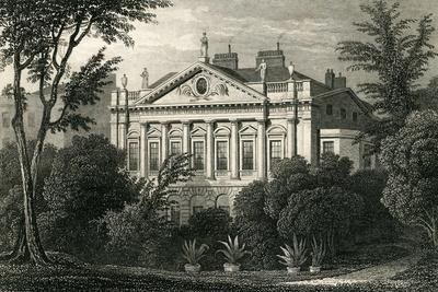Earl Spencer's House, Green Park, 1829