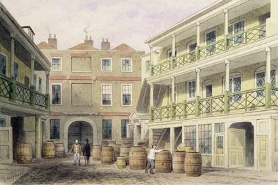 The Bell Inn, Aldersgate Street, 1851