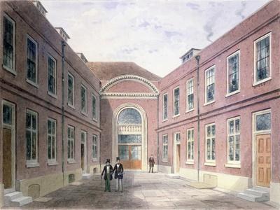 The Inner Court of Girdlers Hall Basinghall Street, 1853