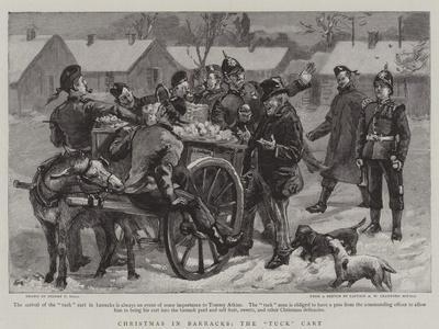 Christmas in Barracks, the Tuck Cart