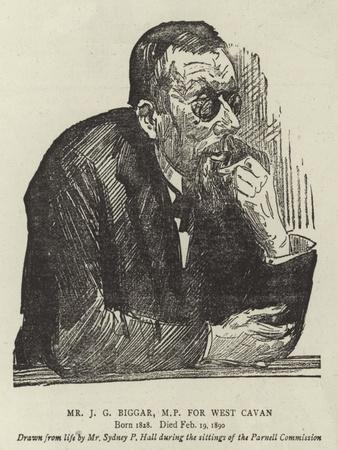 Mr J G Biggar, Mp for West Cavan