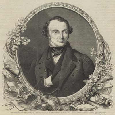 The Right Honourable Lord John Russell, Mp, Minister of England at the Conference of Vienna, 1855
