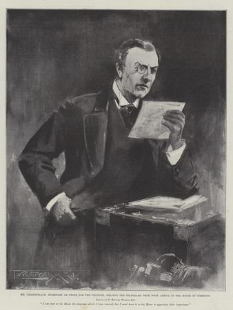 Mr Chamberlain