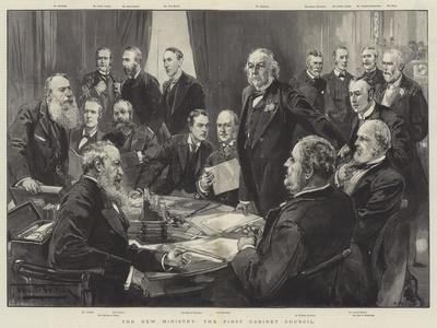 The New Ministry, the First Cabinet Council