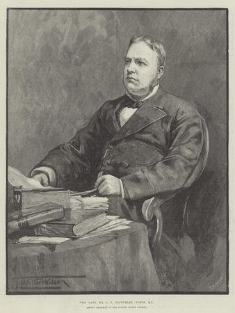 The Late Mr J F Bottomley Firth, Mp, Deputy Chairman of the London County Council