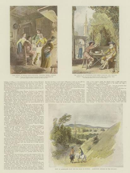 The Complete Angler Giclee Print By Thomas Stothard At Allposters
