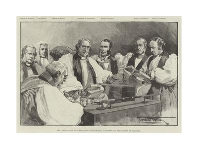 The Archbishop of Canterbury Delivering Judgment on the Bishop of Lincoln