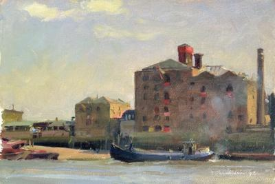 Against the Tide, Rotherhithe, 1992