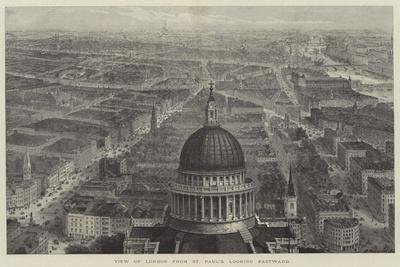 View of London from St Paul's, Looking Eastward