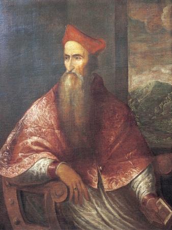 Portrait of Pietro Bembo, 1545