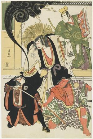 Scene from the Akbuki Play Yukimotsutake Furisode Genji, 1785