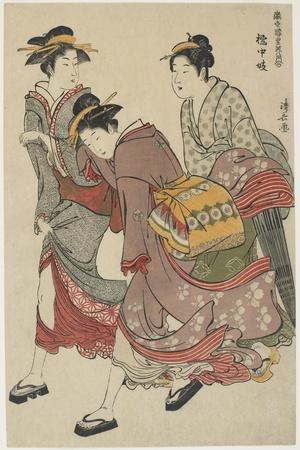 Entertainers of Tachibana-Cho, 1782