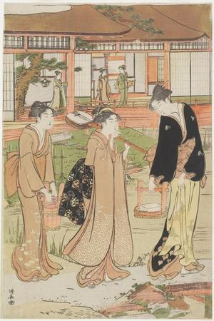 Picnic in a Daimyo's Garden, 1786
