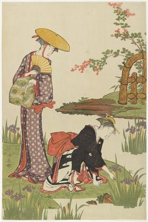 Women by an Iris Pond, 1785