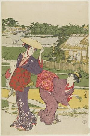 Outing at Muko Jima, 1787