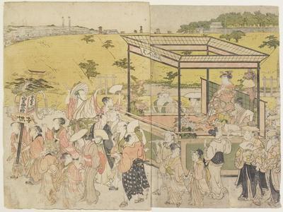 The Sanno Festival Procession, 1788
