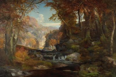 A Scene on the Tohickon Creek: Autumn, 1868