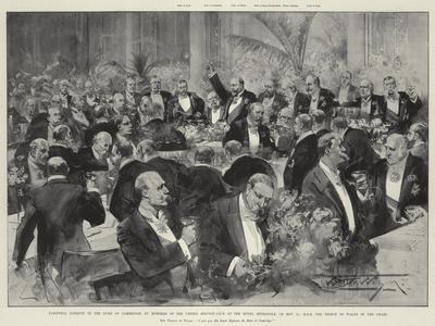 Farewell Banquet to the Duke of Cambridge