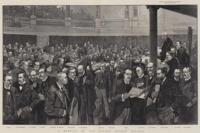 A Meeting of the London County Council
