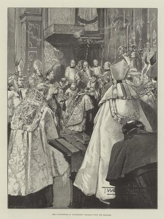 The Investiture of Archbishop Vaughan with the Pallium