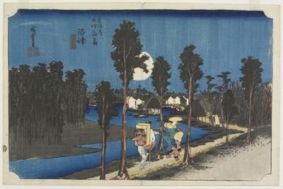 Dusk Scene, Numazu, C. 1833