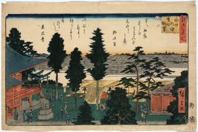 Kanda Myojin Keidai Chobo, Ando Hiroshige, 1797-1858