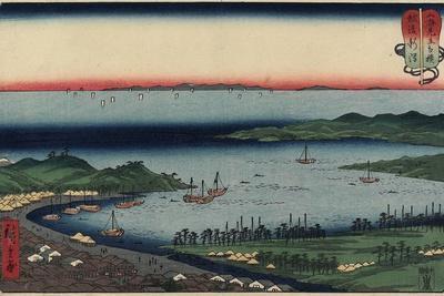 Niigata in Echigo Province, August 1858