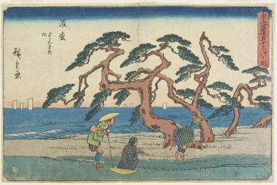 The Pine Field in Hamamatsu, 1841-1842