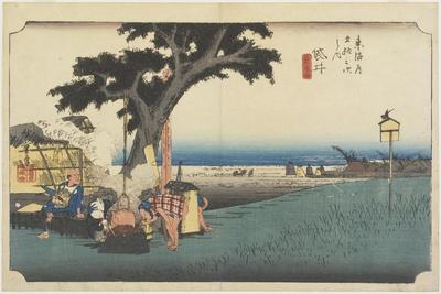 Tea Stall, Fukuroi, C. 1833