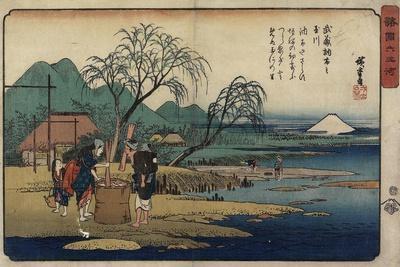 Jewel River of Chofu in Musashi Province, 1835-1837