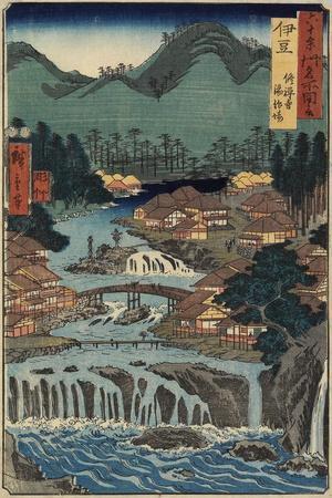 Hot Springs at Shuzenji, Izu Province, August 1853