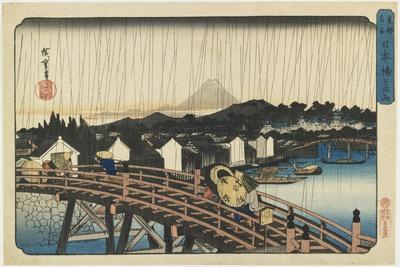 Shower at Nihonbashi Bridge, 1832-1839
