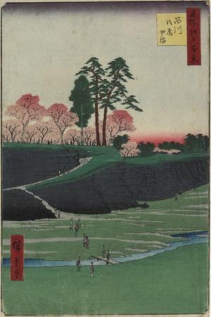 Gotenyama Hill, Shinagawa, April 1856