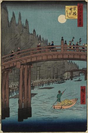 Bamboo Bank, Kyo Bashi, December 1857
