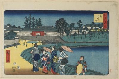Outer Sakurada, April 1854