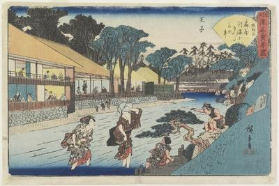 Ogiya at Oji, C. 1835-1842