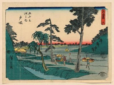 Totsuka, Between 1848 and 1854 Ando, Hiroshige 1797-1858