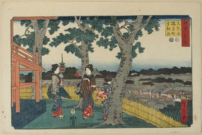 The View of Matuschiyama Hill, Saruwaka District and Kinryuzan Temple, November 1853