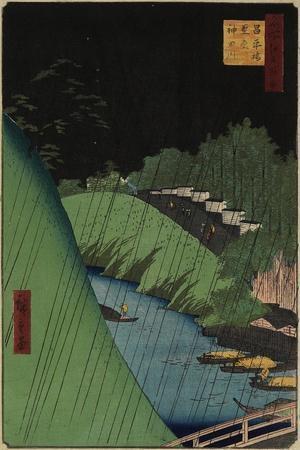 The Temple of Confucius Near the Shohei Bridbe over the Kanda River, September 1857