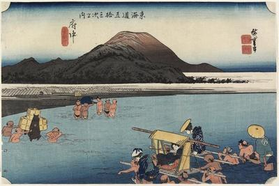 Abe River, Fuchu, C. 1833