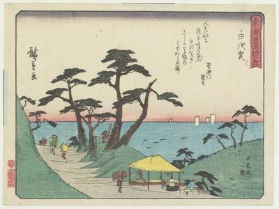 The View of Shiomi Hill in Shirosuga, 1837-1844