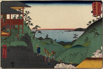 Kiyozumi-Zan Temple in Awa Province, July 1858