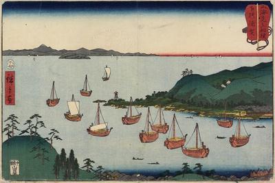 Uraga in Sagami Province, July 1858