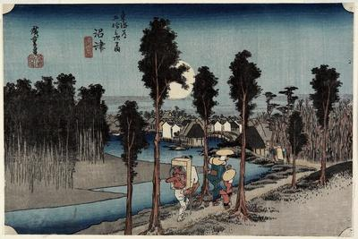 Dusk at Numazu, C. 1833