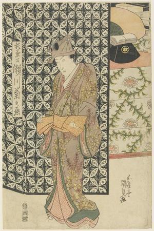The Actor Segawa Kikunojo as Sugikane?, C. 1808-1829