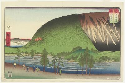 Zozu Mountain in Sanuki Provinces, August 1857