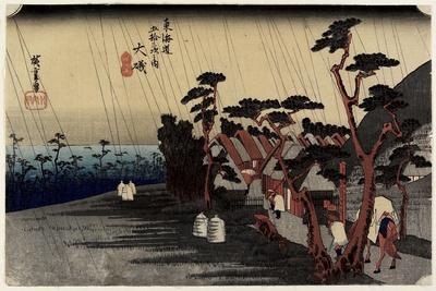 Princess Tora's Rain, Oiso, C. 1833