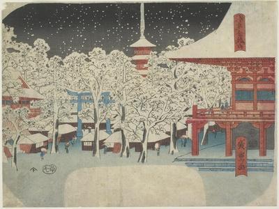 Kinryu Zan Temple at Asakusa, July 1852