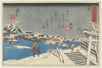 Snow at Matsuchi Hill, 1847-1852