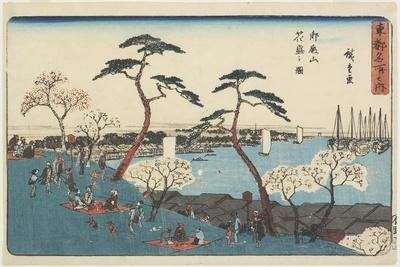 Gotenyama Hill in Bloom, 1830-1844